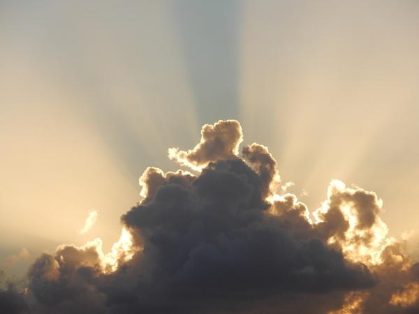 Clouded Sun Rays