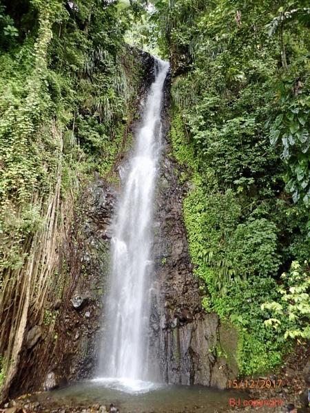 Caribbean Waterfall