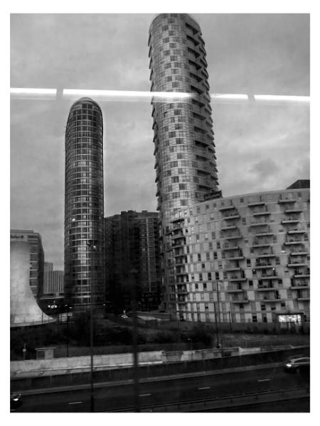 21st century London.