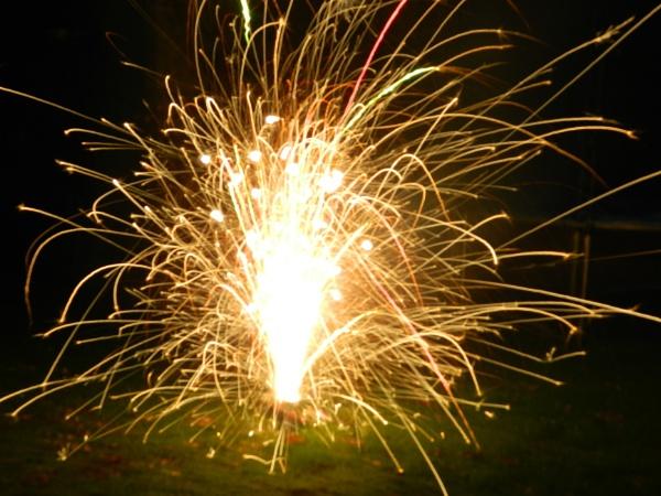New Year Mini-Firework!