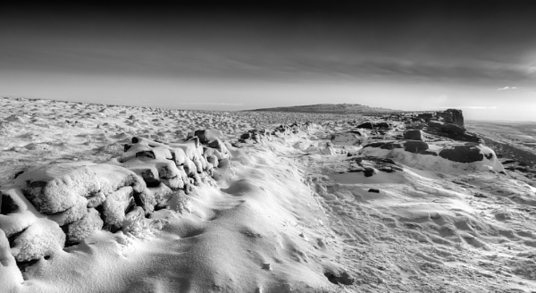 Stanage Edge Winter by Legend147