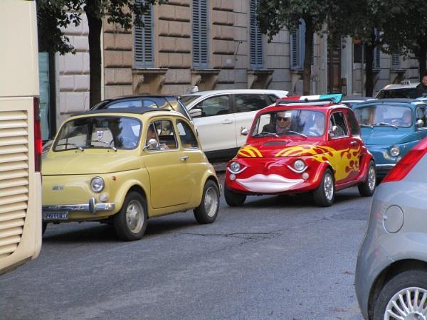 Italian traffic jam by SHR