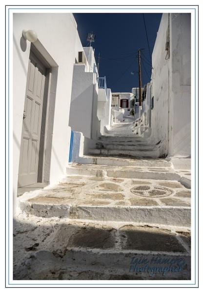 Back street Mykonos by IainHamer