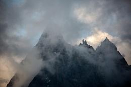 Dark Summit Alps Chamonix