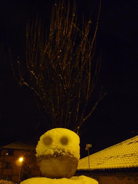 Hair Raining Snowman by ChrisBilton