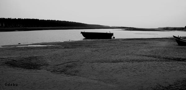 Resting boat by debu