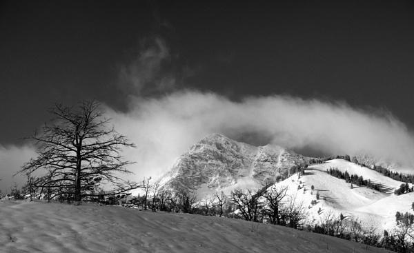The mountains glow by mlseawell