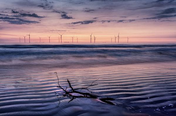 Redcar windfarm by feather1