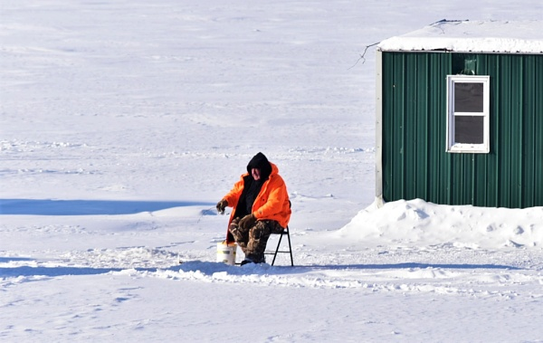 Ice fishing at -22 by djh698