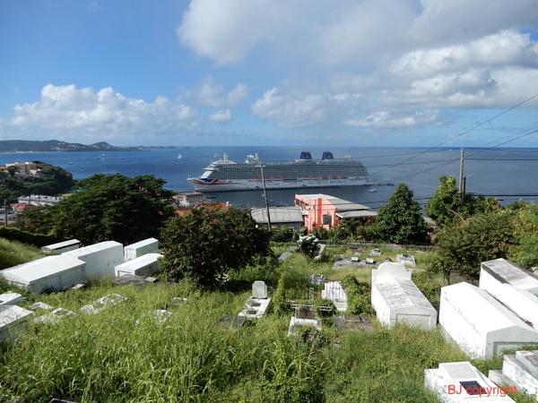 Caribbean land and sea