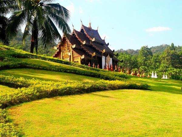 Royal Flora Ratchaphruek, Chiang Mai, Thailand