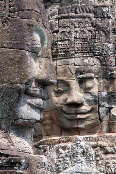 Angkor Wat Buddhas by mikekay
