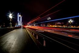 City at night...