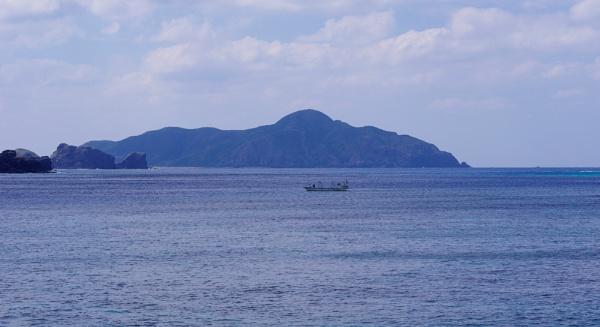 Boat & Blue Seas by PentaxBro