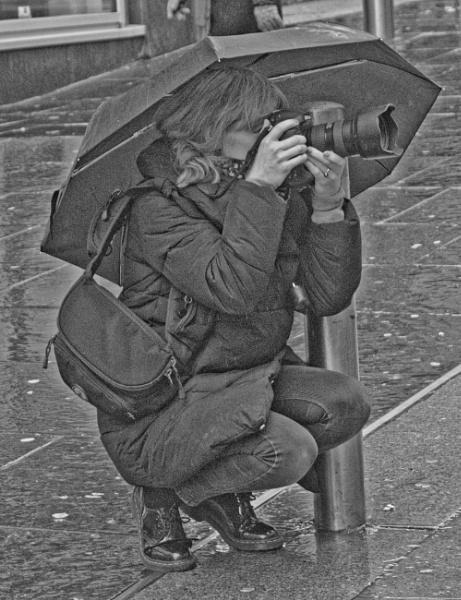 WET GIRL IN THE RAIN TRA LA LA LA by youmightlikethis