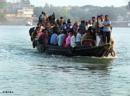 Overloaded Boat ride in Gosaba by debu