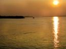 Sunset over the Sundarban jungle by debu
