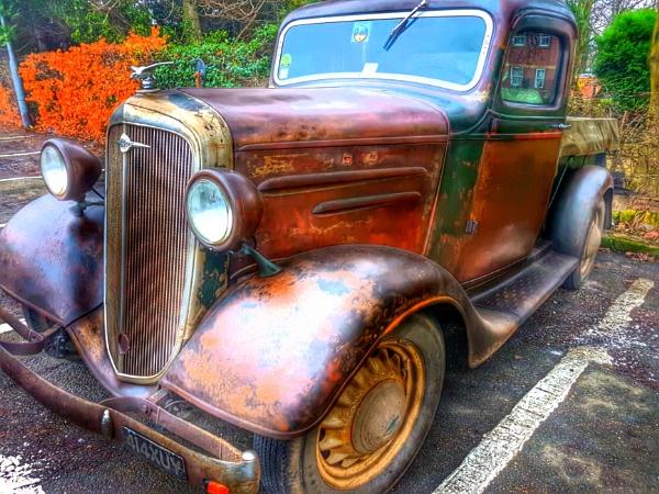 Vintage Rust by Metro6R4