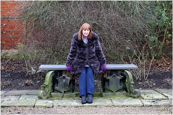 Sue at Arley Hall