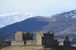 Ruthven Castle,