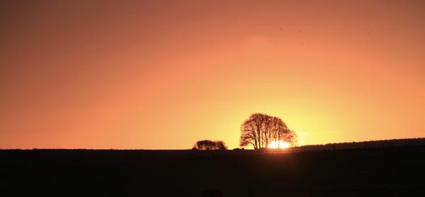 Avebury sun rise by Paintersmate12