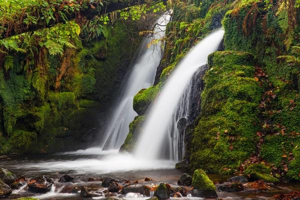 Venford Falls by Les_Cornwell