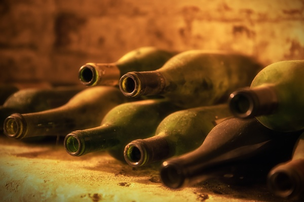 Bottles in the Cellar by Les_Cornwell