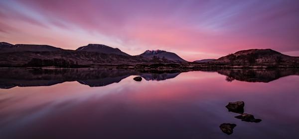 Blackmount sunrise. by Jedross