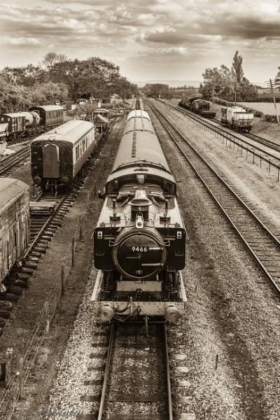 Steam engine by AnnHarrisskitt