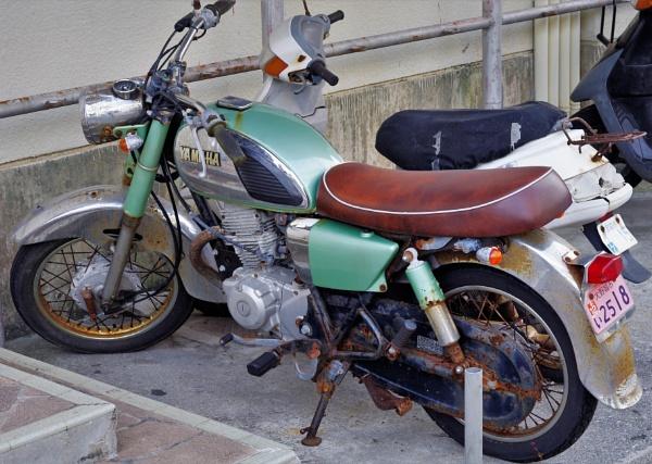 JAPAN - Vintage Motorcycle  by PentaxBro
