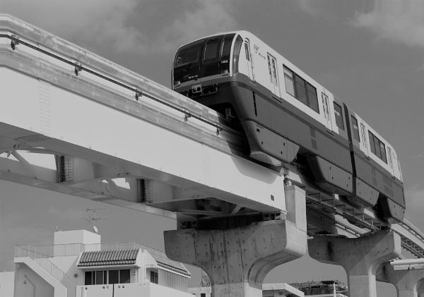 JAPAN - Monorail by PentaxBro