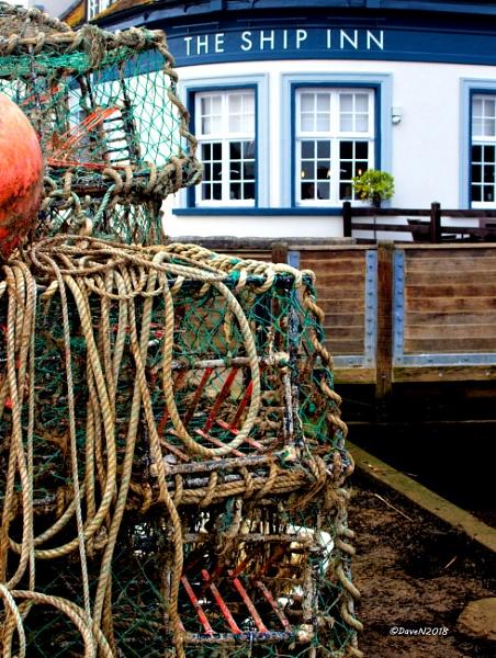 Crab pots and a Pint by DaveNewbury