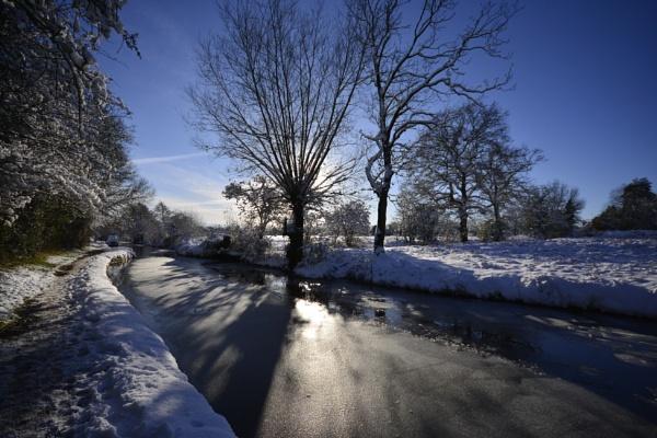 Winter light by dven