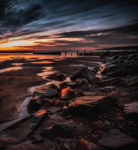 Dawn on Spittal Beach by chris-p