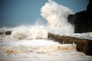 Portreath storm by Geoffphoto