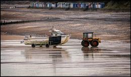 Activity on Cromer Beach