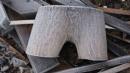 Lumberjacks winter undies ( Frozen log end. last of cold theme) by Jeddahknight111