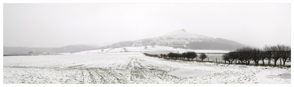 Roseberry Topping Snow Storm by PaulRookes