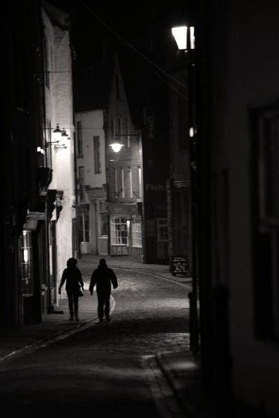 Whitby at night. by shishidog