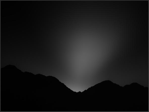 Sunrise landscape..