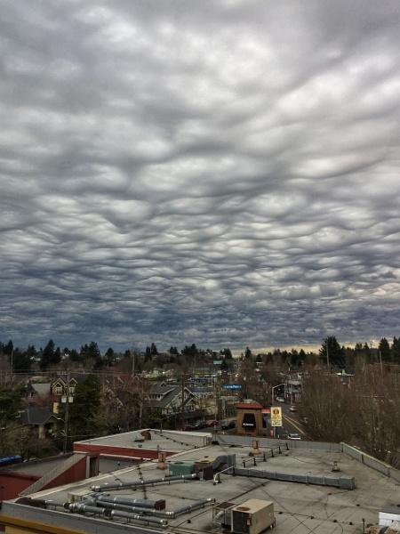Rain Clouds Portland 2018 by knottone1