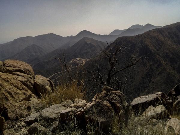 Ta\'if Mountains by JimRich79