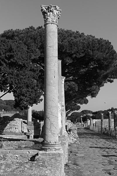 Ostia antica\'s decuman by demi63
