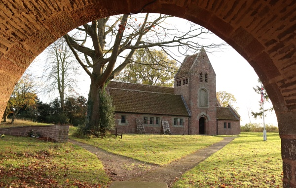 Kempley Church St Edwards Gloucestershire by Sara34