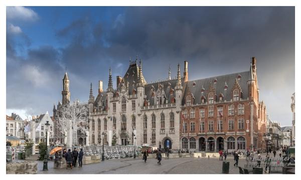 Provinciaal Hof of Provincial Court in Bruges by IainHamer