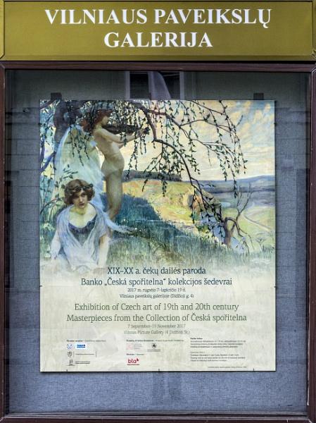 An Exhibition in Vilnius