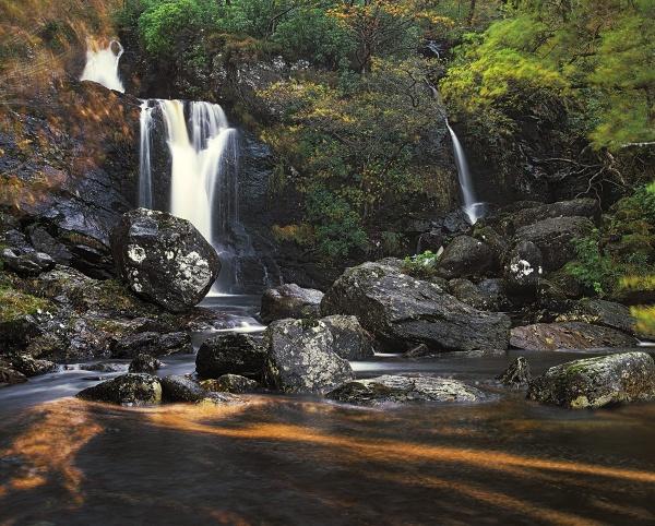Inversnaid Falls by hwatt