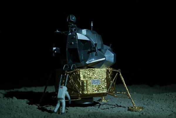 Moon landing by beetlejuice