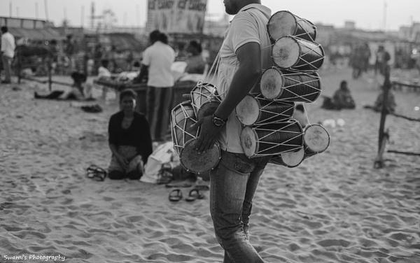 Drum Seller by swami1969