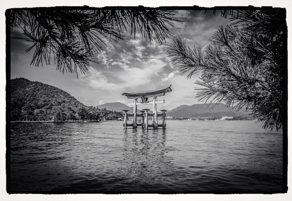Japan - Red Torii Gate by Yogendra